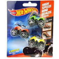 Hot Wheels High Speed Quad(Set Of3)