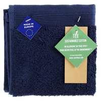 TEX Face Towel 30x30 Navy