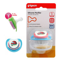 Pigeon Silicon Pacifier Step-1 (Car)