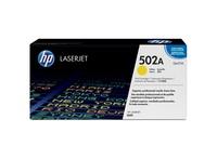 hp Laserjet Toner Cartridge 502A Print 4000 Page Yellow