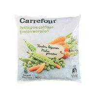 Carrefour Peas & Carrots 1Kg
