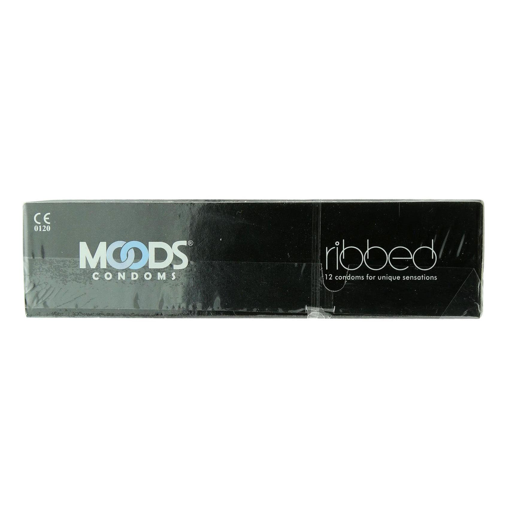 MOODS CONDOMS RIBBED 12S