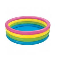 INTEX Inflatable Four Rings Sunset Glow Garden Pool 168 X 46 Cm