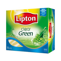 Lipton Tea Clear Green Tea Mint 100 Tea Bag