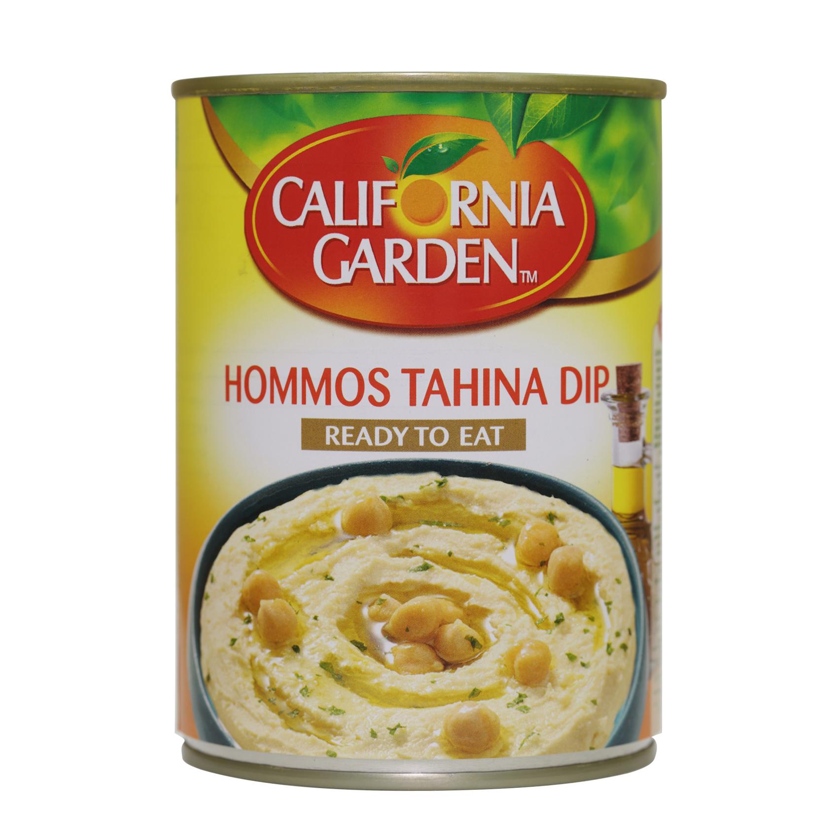 CALIFORNIA GHOMMOS TAHINA 400GR
