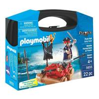 Playmobil Pirate Raft Carry Case - Small