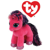 TY Beanie Boos Ruby the Pink Pony (regular)