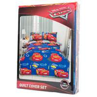 Cars Quilt Cover 3pc Set