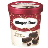 Haagen Dazs Ice Cream Belgian Chocolate 500ml