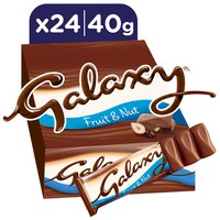 Galaxy® Fruit & Nut Chocolate Bars 40g x 24
