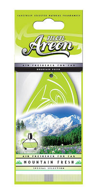 Areon Air Freshener Mon Mountain Fresh Cardbaord