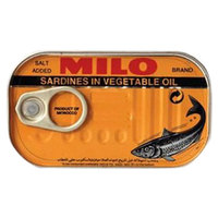 Milo Sardines in Vegetable Oil 125g