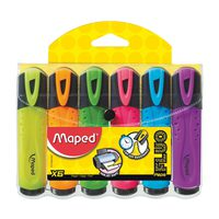 Maped Fluo Classic Highlighter 6Pcs