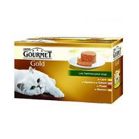 Gourmet Gold Les Terrines Pour Chat 85GR X4