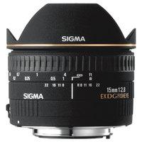 Sigma Lens 15MMF/2.8EX DG F-E For Nikon
