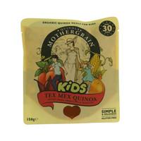 Quinola Mothergrain Organic Kids Tex Mex Quinoa Kidney Beans, Sweetcorn & Tomatoes 150g