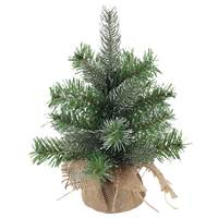 Christmas Tree - 30Cm White Brush Pvc Tree