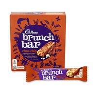 Cadbury Brunch Bar Choc Chip 32GR X6