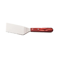 Tramontina Spatula Fritura Inox Large Red With Angles
