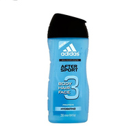 Adidas After 3 Sport Shower Gel For Body And Facial Hair 250ML