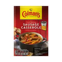 Colman's Sausage Casserole Seasoning Mix 39GR