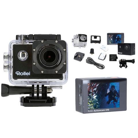 buy rollei action camera 610 accessories online shop. Black Bedroom Furniture Sets. Home Design Ideas