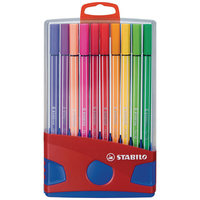Stabilo Pen 68 F/Pen Colored Parad 20Pc