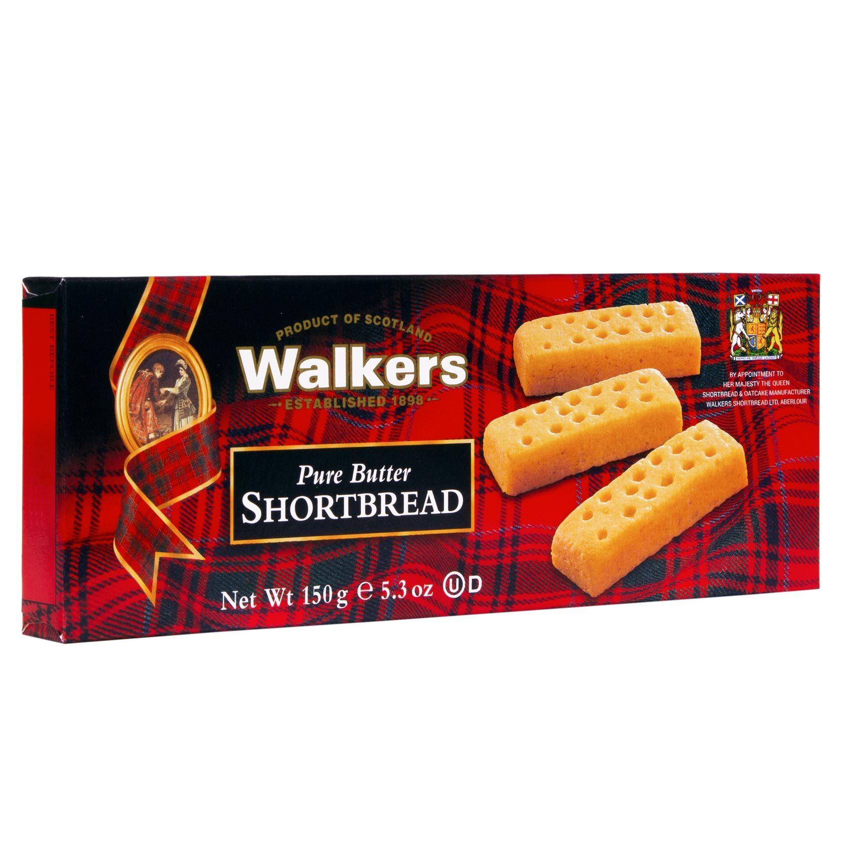 WALKERS BISCUIT FINGERS 150GR