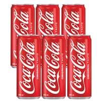 Coca Cola Carbonated Drink 295mlx6