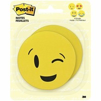 "Post-It Emoji 3X3"" 50Sht 4Shpes 1Pd (Assorted)"