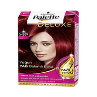 Palette Deluxe Smooth Red Violet 5-889 50ML 2+1 Free