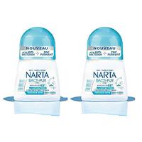 Anti Transpirant Narta Women Deodorant Roll On Bacti Pur 50ML X2 20% Off