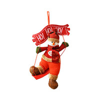 Decoration Hanging Red Ho Ho Ho 34CM