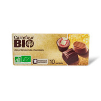 Carrefour Bio Assortiment Chocolat 200GR
