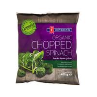 Emborg Organic Chopped Spinach 400g