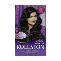 Wella Koleston Long Lasting Intense Color Cream 2/0 Black
