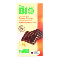 Carrefour Bio Organic Dark Chocolate Orange 100g