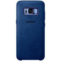 Samsung Case S8 Alcantara Blue