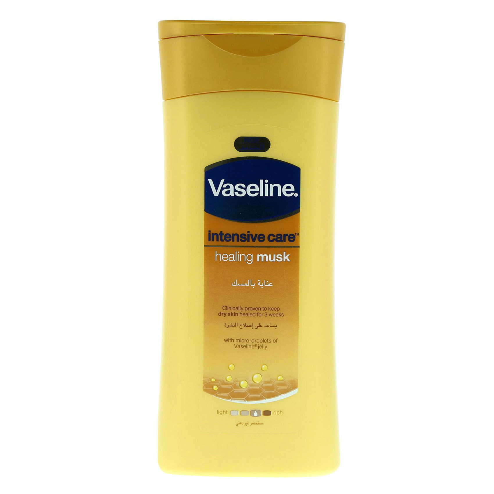 VASELINE LOT VELVET MUSK 200ML
