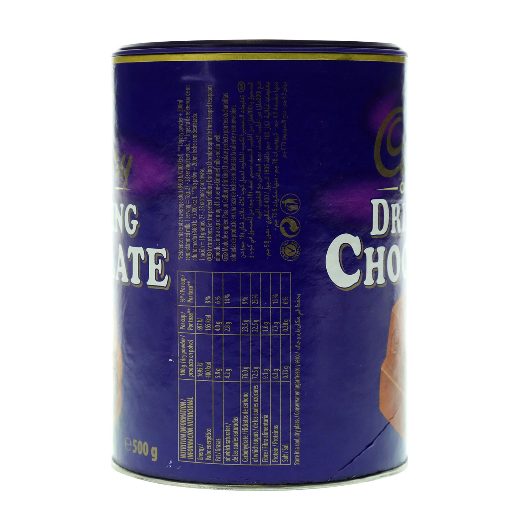 CADBURY DRINKING CHOCO. 500 GR
