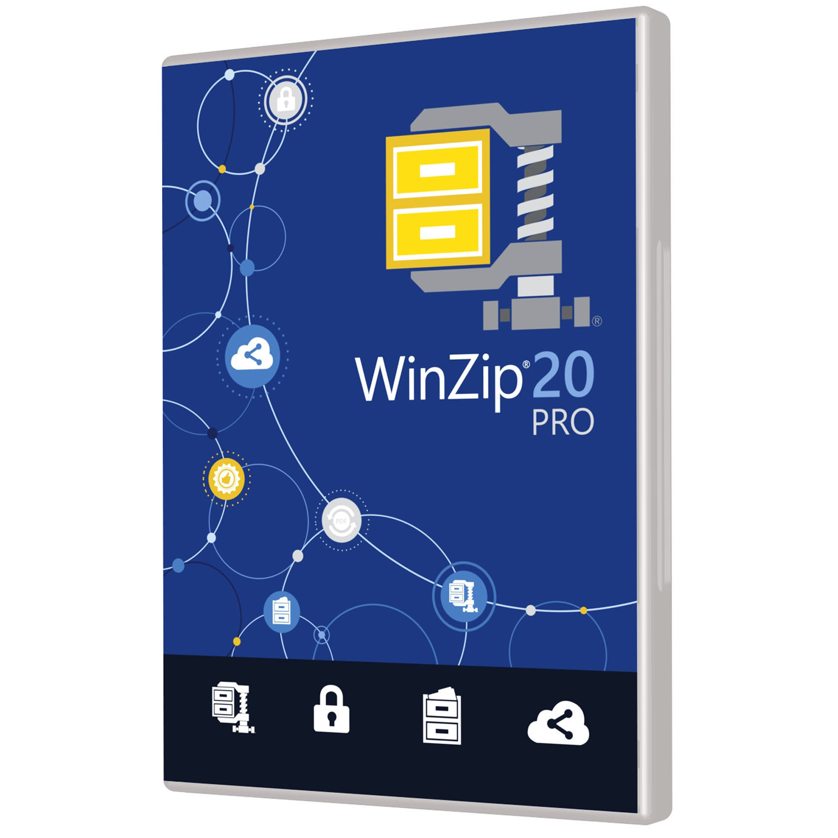 PC WINZIP 20 PRO ML DVD