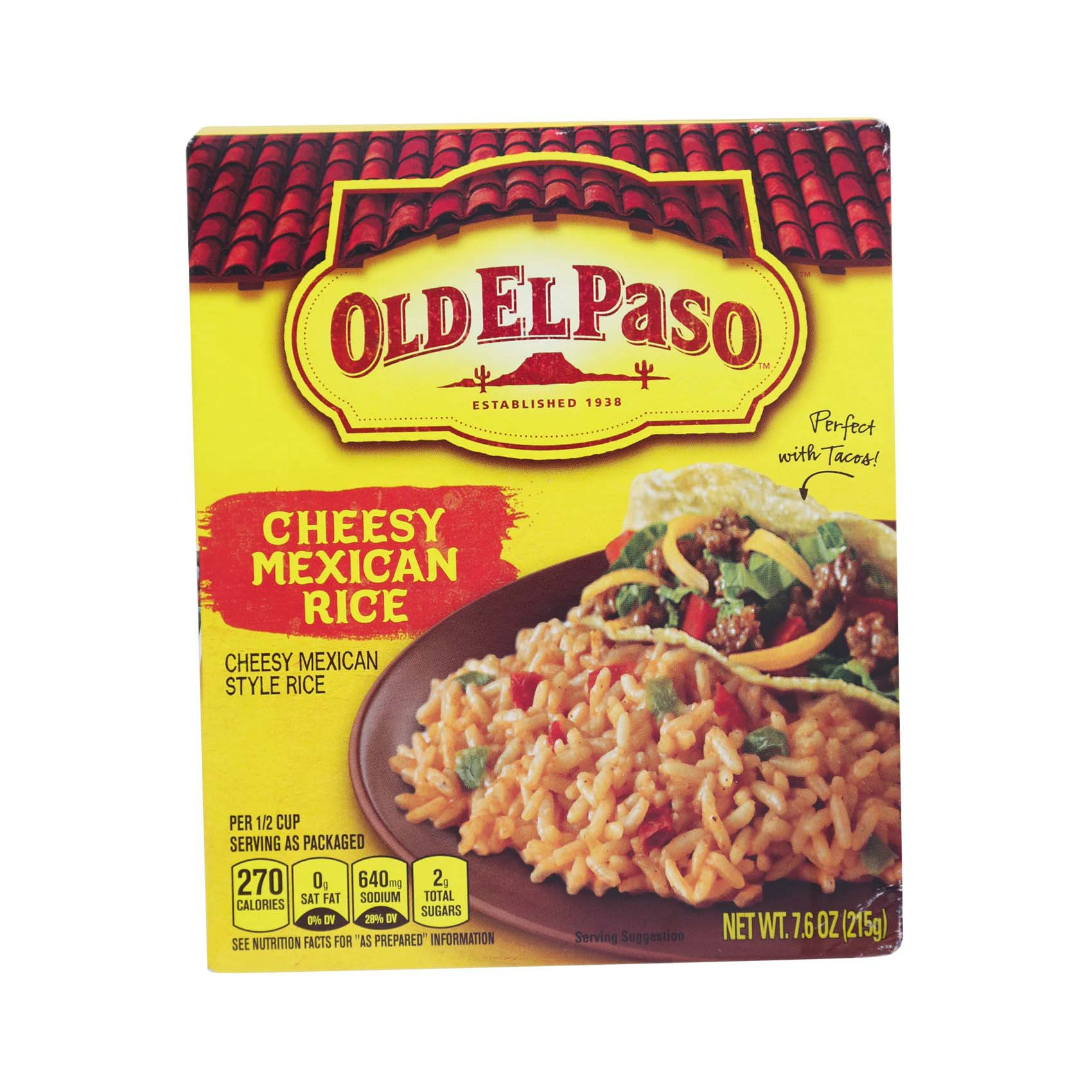 OEP CHEESY MEXICAN RICE 215GR