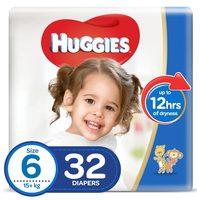 Huggies Superflex Value Pack Size 6 15+ kg 32 Count