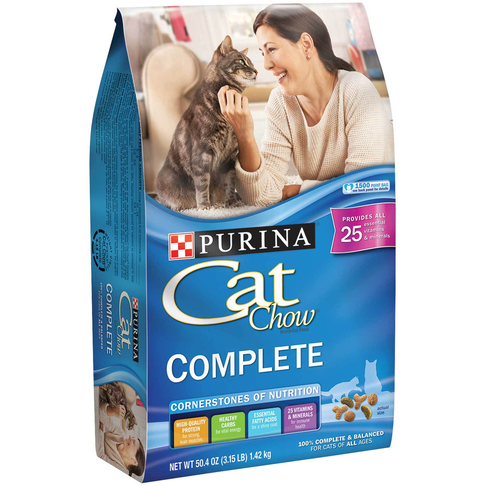 PURINA CAT CHOW COMPLETE 1.42 KG