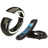 AEG Eclipse 15 Twin Dect Phone Black