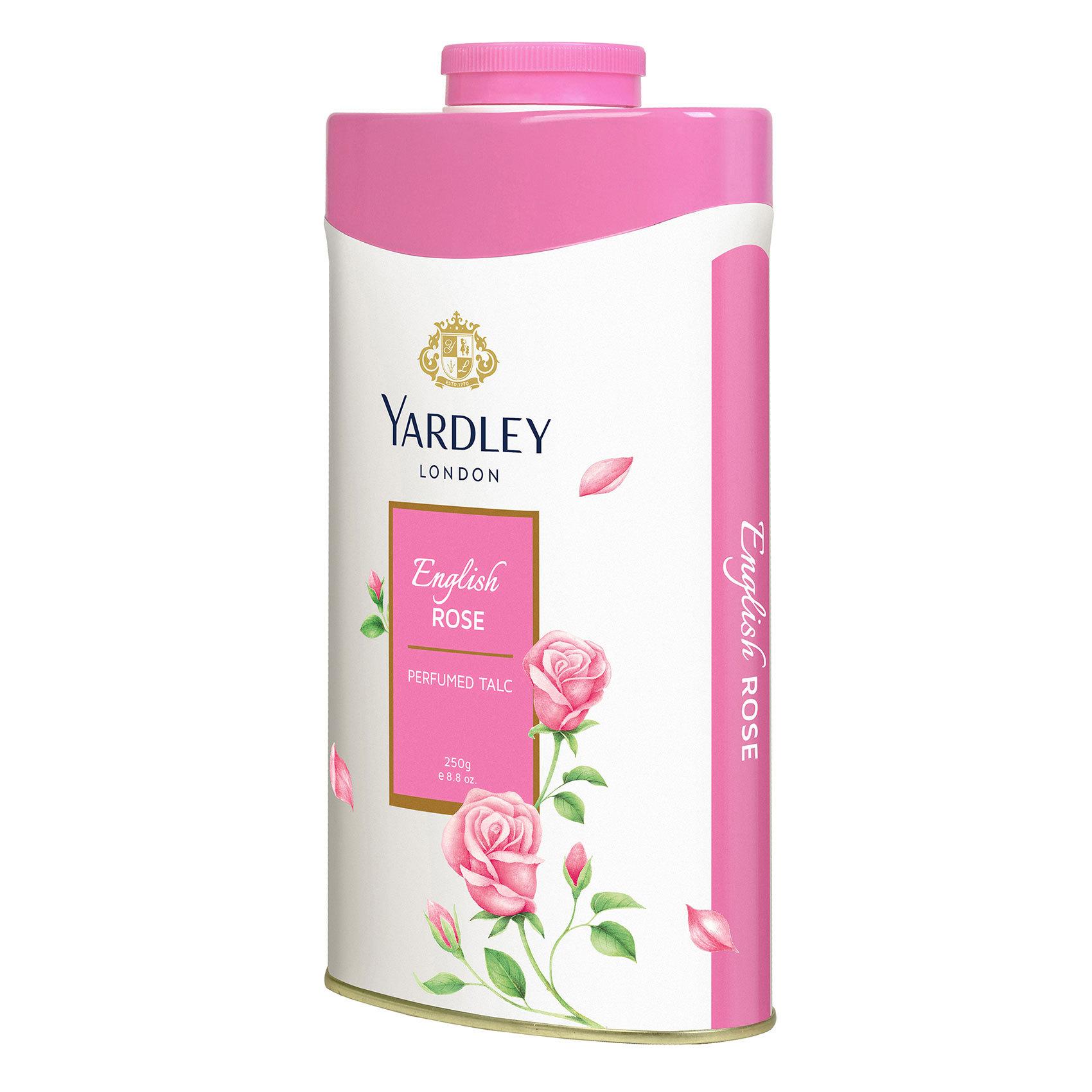 YARDLEY ENG. ROSE TALC 250G