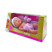 Dolls World Newborn Baby Girl 38CM 12 Months+