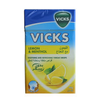 Vicks Throat Drops Lemon & Menthol 40 g