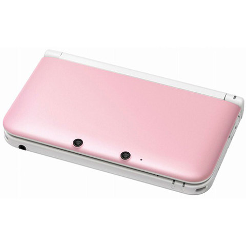 Nintendo-New-3DSXL-Console-Pink/White-+1-Assorted-Game