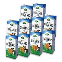 Arla Organic Milk Full Fat 1 L x 10